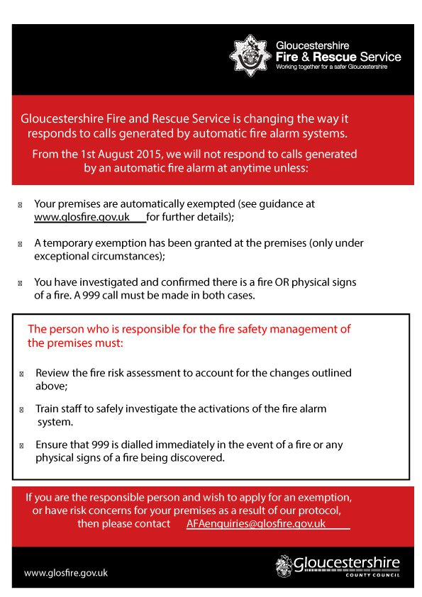 GFRS Call out leaflet